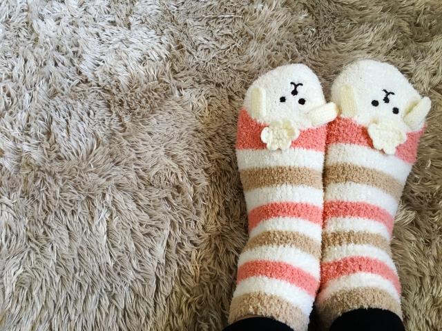 温かい靴下