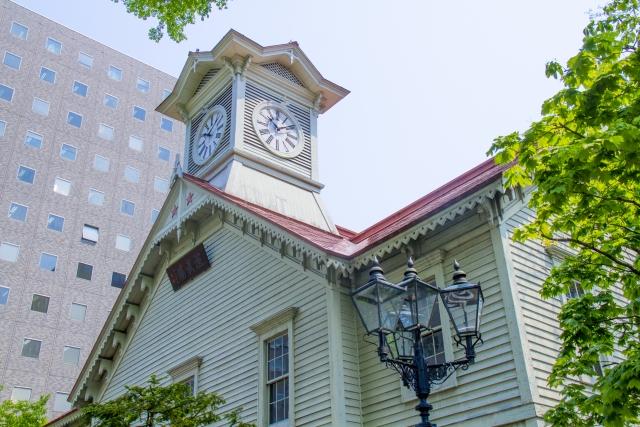 札幌市の時計台-北海道のホワイトニングは専門歯科、歯医者で