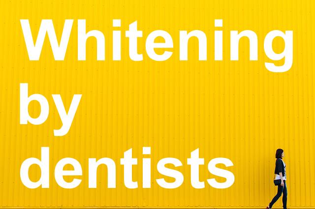 歯医者でホワイトニング